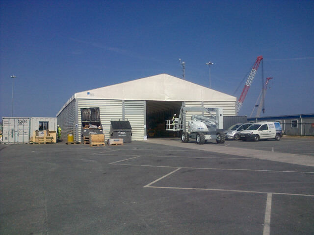 Temporary Building / Temporary Warehousing – Storage Structure Ref: 2703