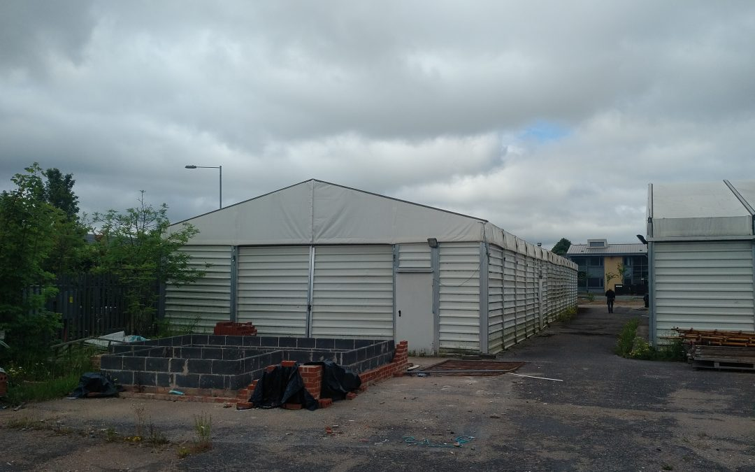 Temporary Building / Temporary Warehousing – Storage Structure Ref: 0607