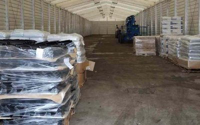 Temporary Building / Temporary Warehousing – Storage Structure Ref: 0809