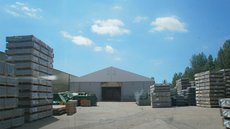 Temporary Storage Structures – Dover