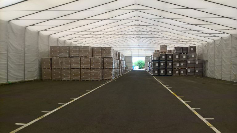 Temporary Storage Structures – Glasgow