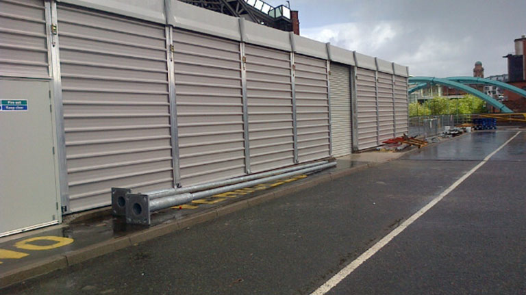 Temporary Storage Structures – Manchester