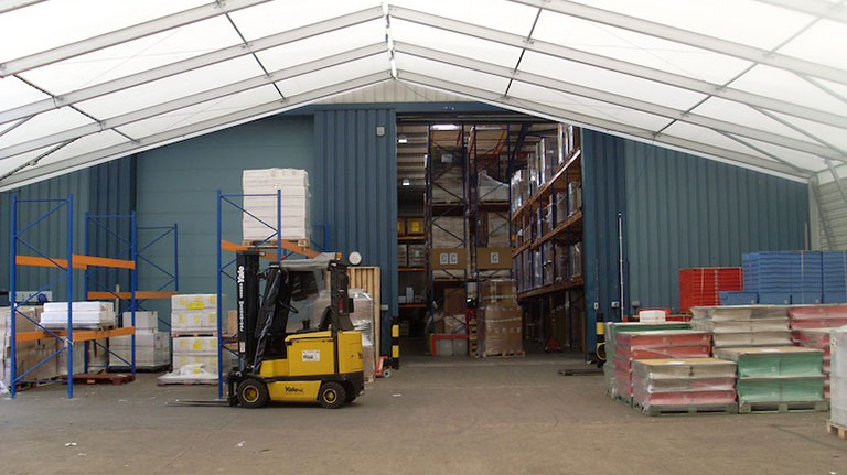 Temporary Storage Structures – West Midlands