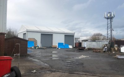 Temporary Building / Temporary Warehousing – Storage Structure Ref: 2301