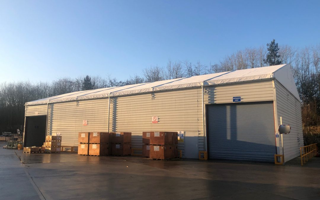 Temporary Building / Temporary Warehousing – Storage Structure Ref: 1401