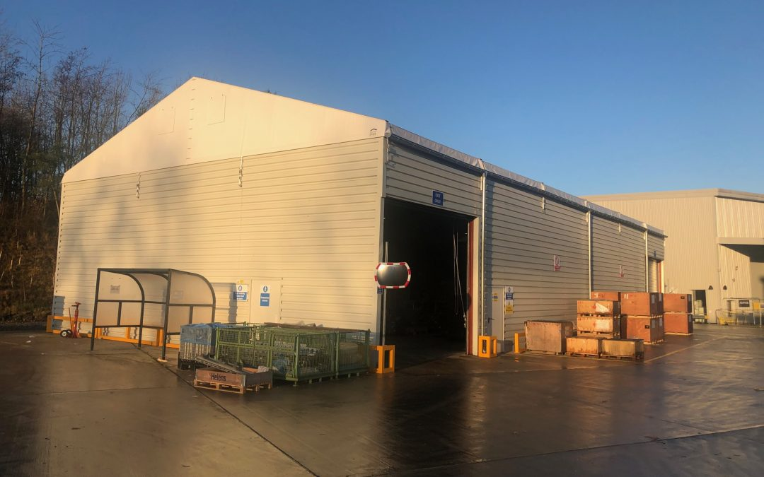 Temporary Storage Building – Newton Aycliffe